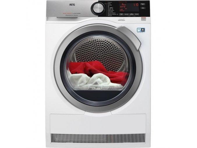 Sušička prádla AEG AbsoluteCare® T8DEC68SC bílá  AEGT8DEC68SC