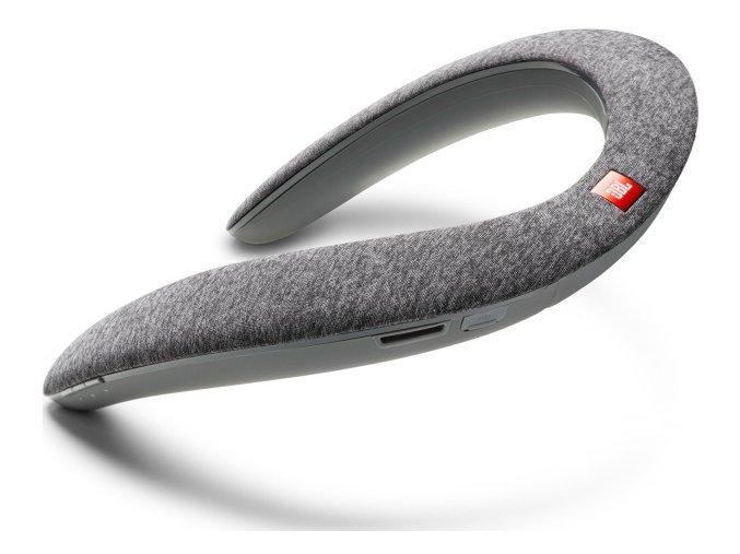 Nákrčníkový reproduktor JBL Soundgear šedý