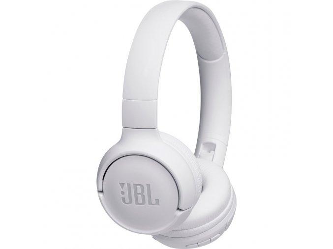 Sluchátka JBL Tune 500BT bílá  jblt500btwht