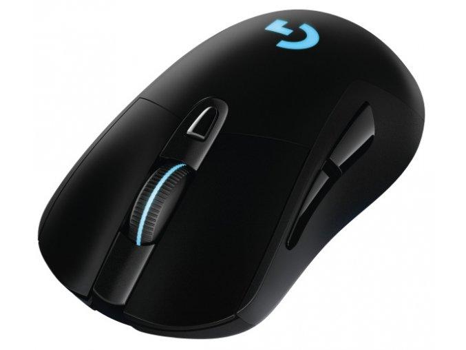 Myš Logitech Gaming G703 Lightspeed Wireless černá (/ optická / 6 tlačítek / 12000dpi)
