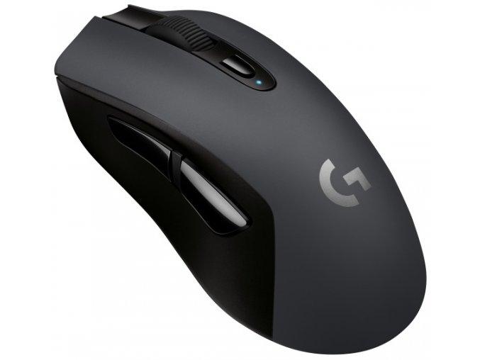 Myš Logitech Gaming G603 Lightspeed Wireless černá (/ optická / 6 tlačítek / 12000dpi)