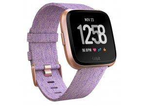 Chytré hodinky Fitbit Versa (NFC) - Lavender Woven