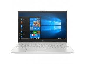 Notebook HP 15-dw0004nc stříbrný