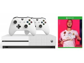 Herní konzole Microsoft Xbox One S 1 TB + ovladač + FIFA 20