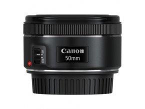 Objektiv Canon EF 50 mm f/1.8 STM černý  canef50f18stm