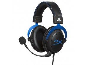 Headset HyperX Cloud Gaming pro PS4 černý/modrý  kinhxhsclsblem