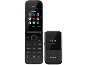 Mobilní telefon Nokia 2720 Flip Dual SIM černý  nok16btsb01a02