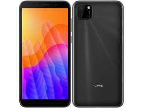 Mobilní telefon Huawei Y5p černý  huaspy5p32dsbom