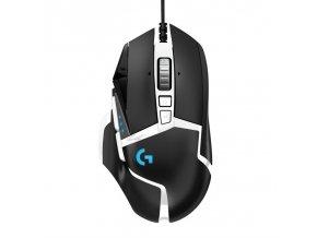 Myš Logitech G502 SE Hero High Performance černá/bílá  log910005729