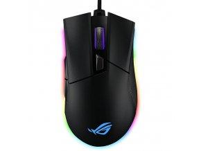 Myš Asus ROG Gladius II Origin černá  asu90mp00u1b0ua00
