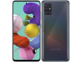 Mobilní telefon Samsung Galaxy A51 černý  samsma515fzkveue