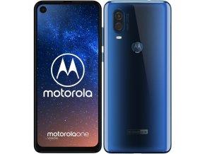 Mobilní telefon Motorola Moto One Vision modrý  lnvpafb0008ro