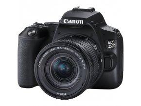 Digitální fotoaparát Canon EOS 250D + 18-55 IS STM černý  caneos250d1855is