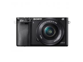 Digitální fotoaparát Sony Alpha 6000 + 16-50 OSS SEL černý  sonilce6000lbcec