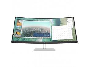 Monitor HP E344c Curved černý/stříbrný  hpp6gj95aa
