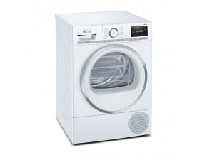 Sušička prádla Siemens iQ800 WT47XEH0CS bílá  SIEWT47XEH0CS