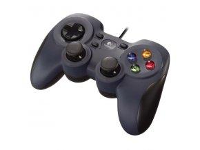 Gamepad Logitech F310 pro PC černý