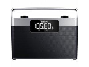 Radiopřijímač Philips AE2430 černý/stříbrný  phiae2430