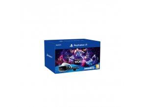 Brýle pro virtuální realitu Sony PlayStation VR + Kamera + VR WORLDS (PSN voucher) + NEW! PlayStation Camera adaptor (Naboo)  sonps719809395