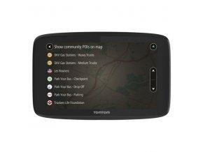 Navigační systém GPS Tomtom GO Professional 6200 EU, Lifetime černá