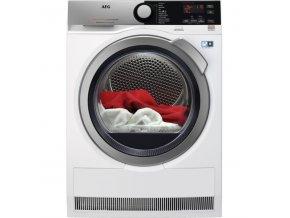 Sušička prádla AEG AbsoluteCare® T8DEE48SC bílá  AEGT8DEE48SC