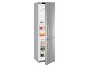 Chladnička s mrazničkou Liebherr CBef 4805 nerez
