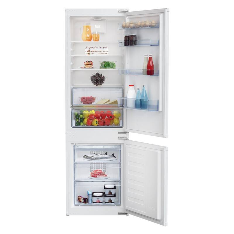 Chladnička s mrazničkou Beko BCSA285K3S