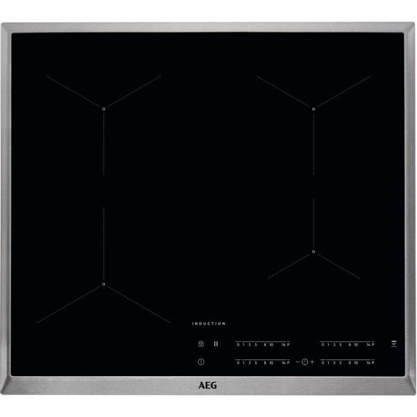 Indukční varná deska AEG Mastery IKB64431XB černá Nepoužito - Rozbaleno - Poškozená krabice