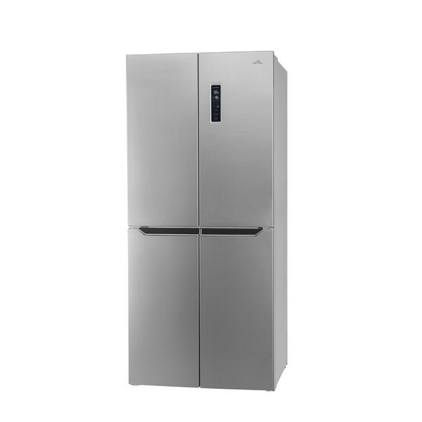 Americká lednice ETA 139090010 stříbrná ETA139090010