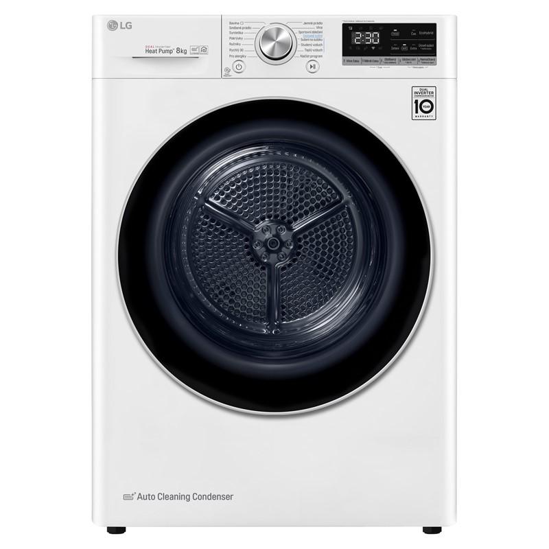 Sušička prádla LG RC81V9AV3Q bílá Nepoužito - Rozbaleno