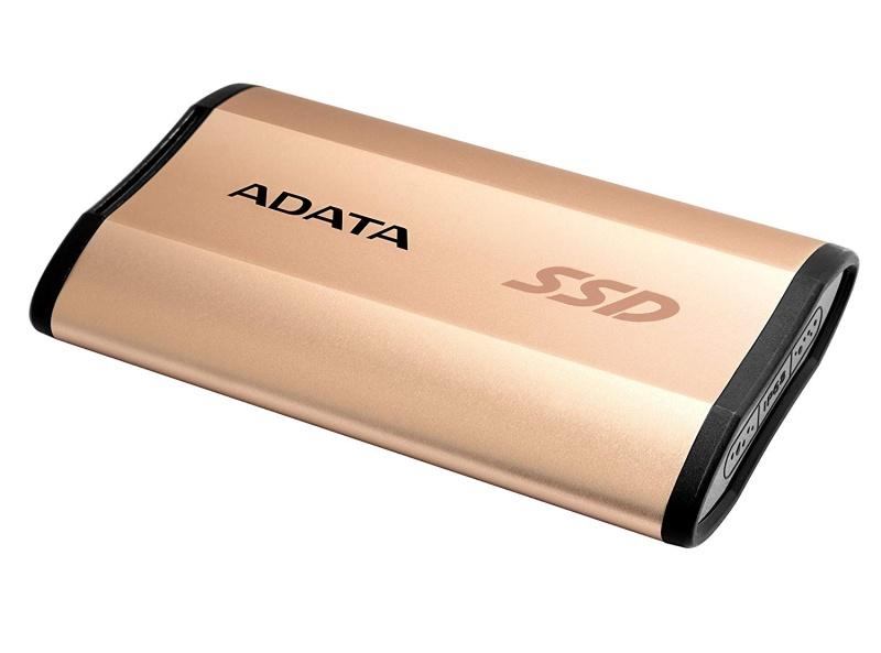 SSD externí ADATA ASE730 512GB zlatý Vráceno ve 14ti denní lhůtě