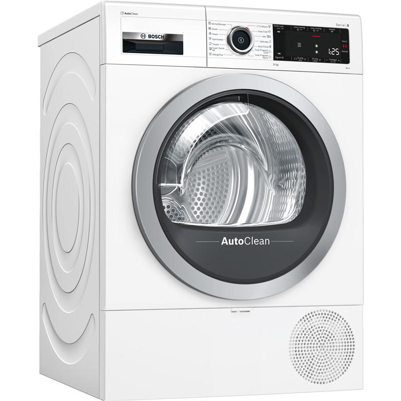 Sušička prádla Bosch Serie   8 WTX87M90BY Nepoužito - Rozbaleno - Oděrky na dvířkách