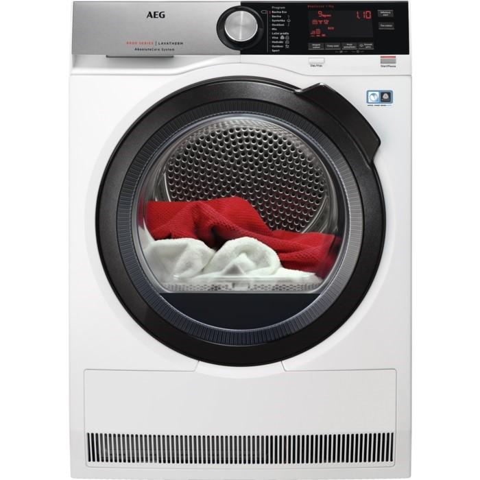 Sušička prádla AEG AbsoluteCare® T8DC49BCS bílá aegt8dc49bcs