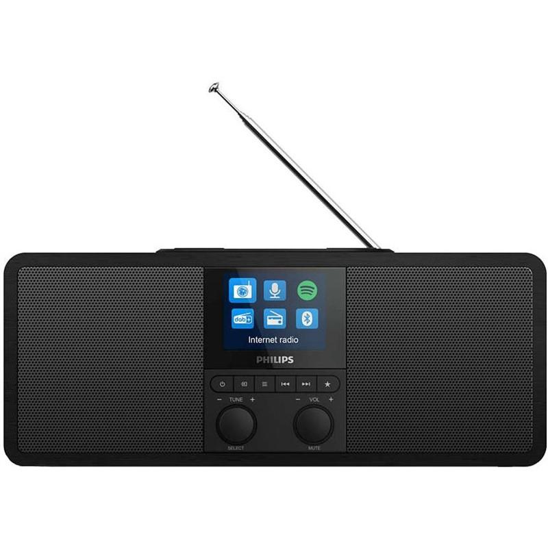 Internetový radiopřijímač Philips TAR8805 černý Vráceno ve 14ti denní lhůtě - Drobné oděrky na displeji