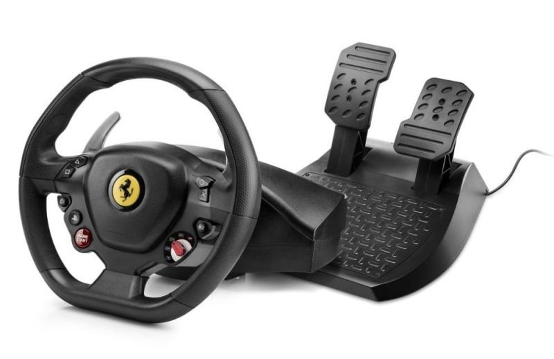 Volant Thrustmaster T80 Ferrari 488 GTB Edition pro PS5, PS4 a PC Vráceno ve 14ti denní lhůtě - Drobné oděrky