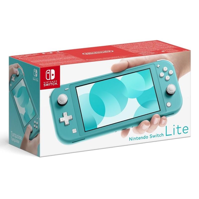 Herní konzole Nintendo Switch Lite modrá Poškozený obal - vystaveno