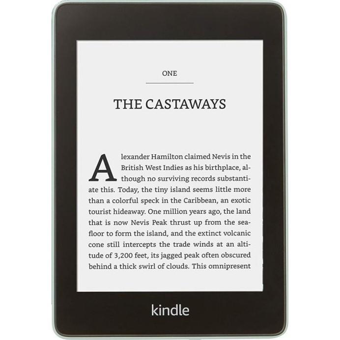 Čtečka e-knih Amazon Kindle Paperwhite 4 2018 s reklamou zelená Poškozený obal - vystaveno