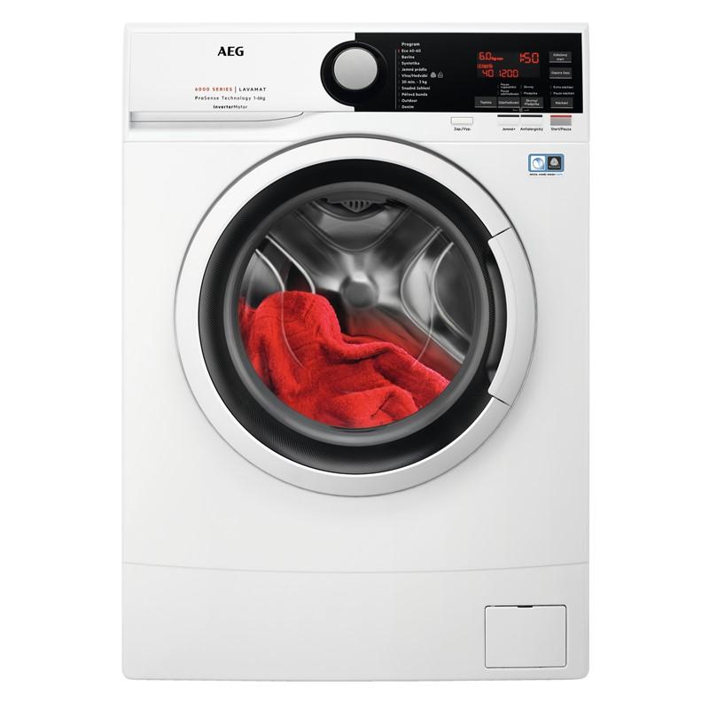Pračka AEG ProSense™ L6SE26IWC bílá nepoužito-rozbaleno