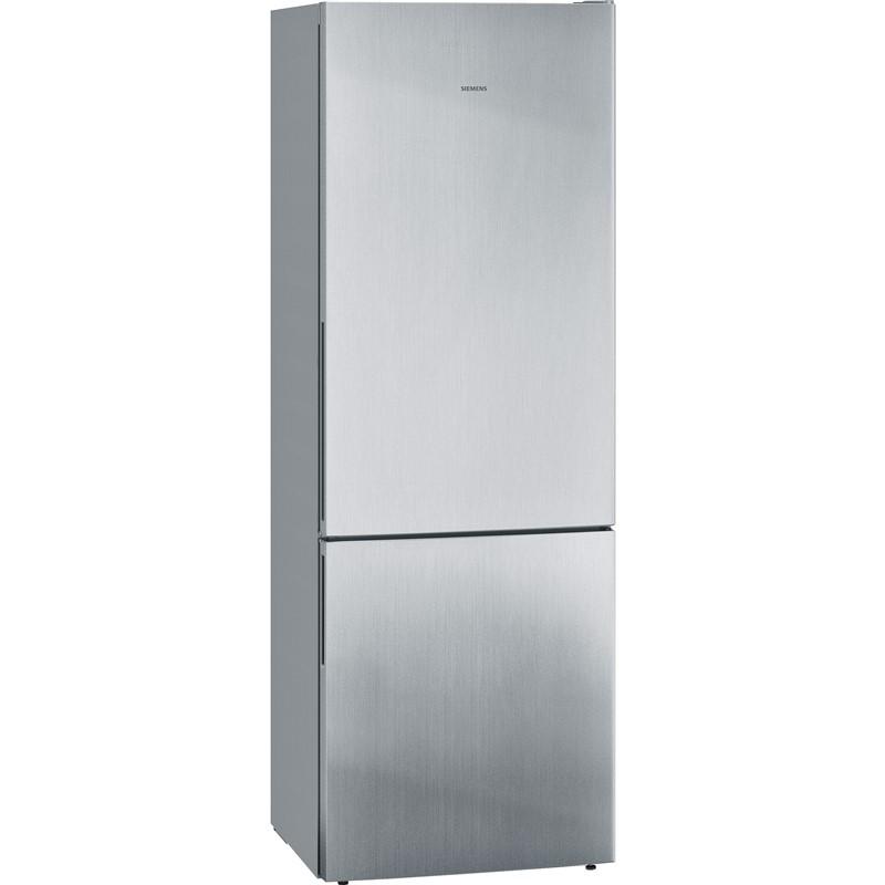 Chladnička s mrazničkou Siemens iQ500 KG49EAICA nerez nepoužito-spodní dvířka kosmetické oděrky