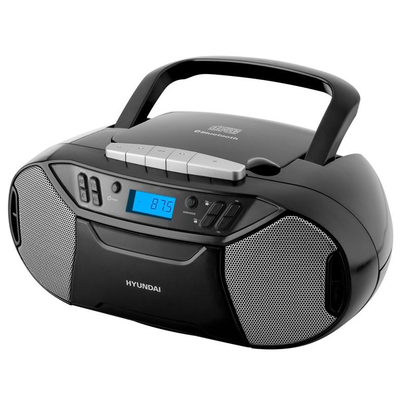 Radiomagnetofon s CD Hyundai TRC 333 AU3BTB černý Vráceno ve 14ti denní lhůtě - kosmetické oděrky