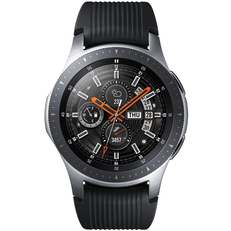 Chytré hodinky Samsung Galaxy Watch 46mm LTE stříbrné Vráceno ve 14ti denní lhůtě-Bez origi.krabičky a náhradního řemínku-Drobné oděrky