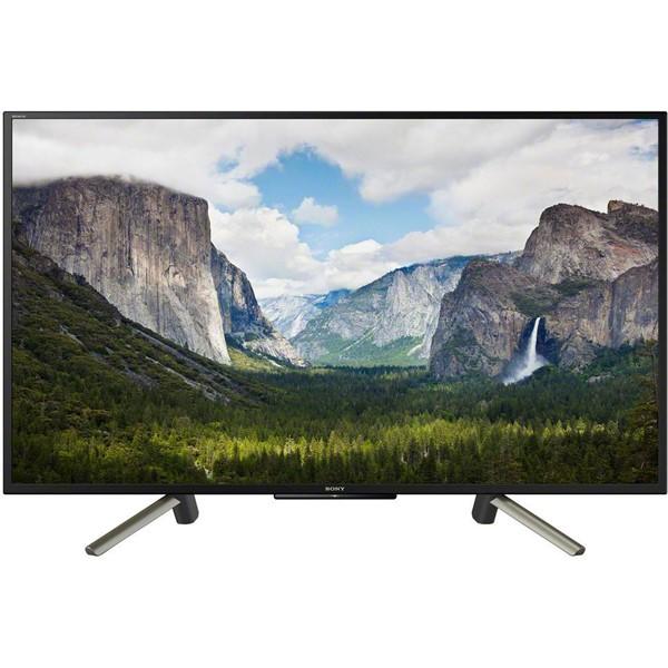 Televize Sony KDL-43WF665 černá/stříbrná Vráceno ve 14ti-kosmetické oděrky