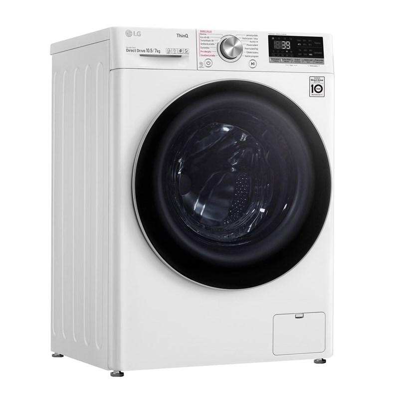 Pračka se sušičkou LG Vivace F4DV710H1E bílá odzkoušeno - vráceno - kosmetické oděrky