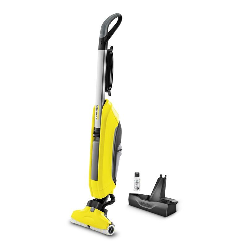 Podlahová myčka Kärcher FC 5 1.055-400.0 žlutý Odzkoušeno - Vráceno - Oděrky - Poškozená krabice - Chybí podlahový čistič