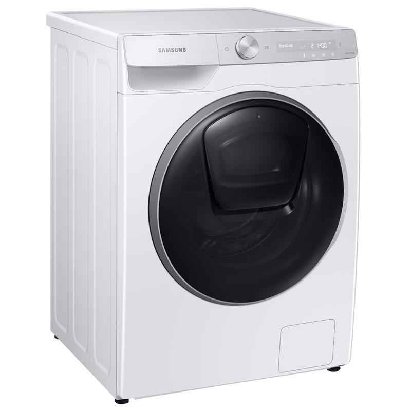 Pračka se sušičkou Samsung WD90T984ASH/S7 bílá nepoužito-levá strana + dvířka malá oděrka