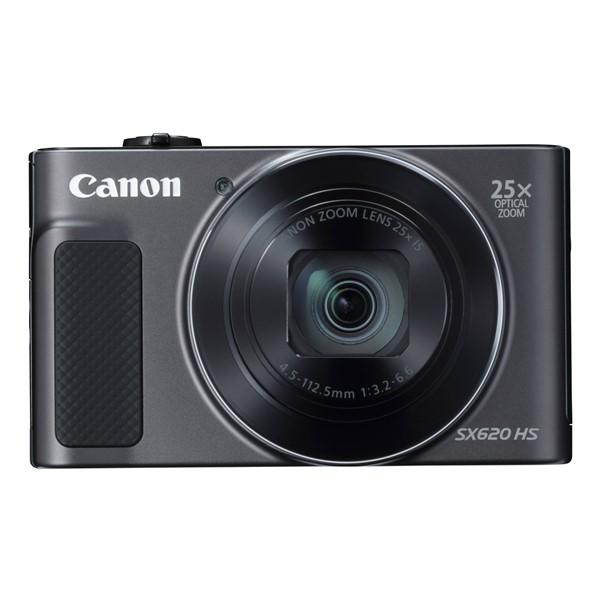Digitální fotoaparát Canon PowerShot SX620 HS černý Poškozený obal - vystaveno