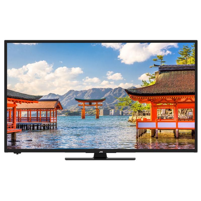 Televize JVC LT-32VH5905 černá Vráceno-Použito-Oděrky-Chybí šroubek na ovladači-Poškozená krabice