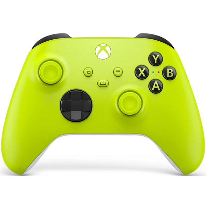 Levně Gamepad Microsoft Xbox Series Wireless - Electric Volt zelený Vráceno ve 14 ti denní lhůtě - Poškozený obal