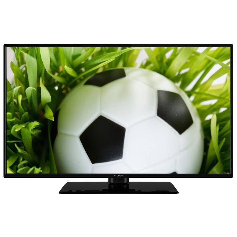 Levně Televize Hyundai FLP 32T343 černá Vráceno ve 14 ti denní lhůtě - Oděrky na stojanu - Náhradní krabice