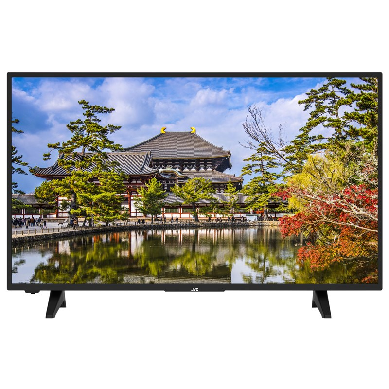 Televize JVC LT-43VU3005 černá Poškozený obal - rozbaleno